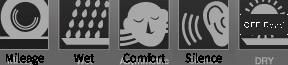 Mileage Wet Comfort Siler [OFF ROAD]