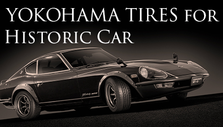 YOKOHAMA TIRES FOR HISTORIC CAR