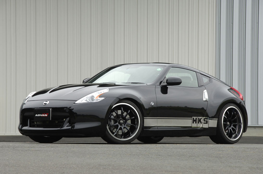 NISSAN FAIRLADY Z Version ST [Z34] 2008y / HKS [DEMO-CAR]