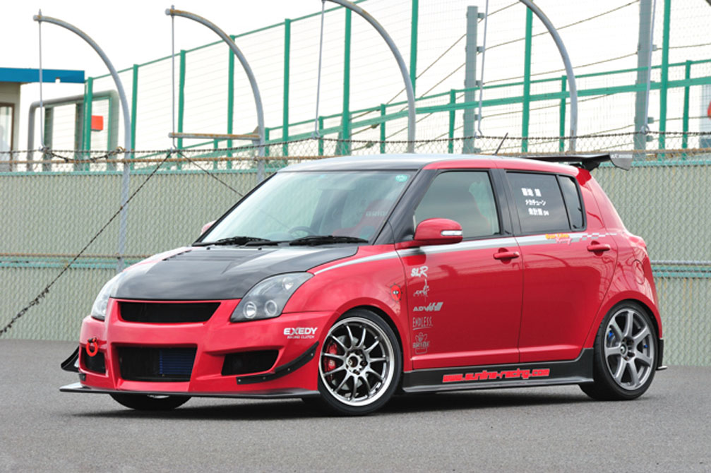 SUZUKI SWIFT SPORT [ZC31S] 2008y / SunLine Racing [SHOP DEMO-CAR]