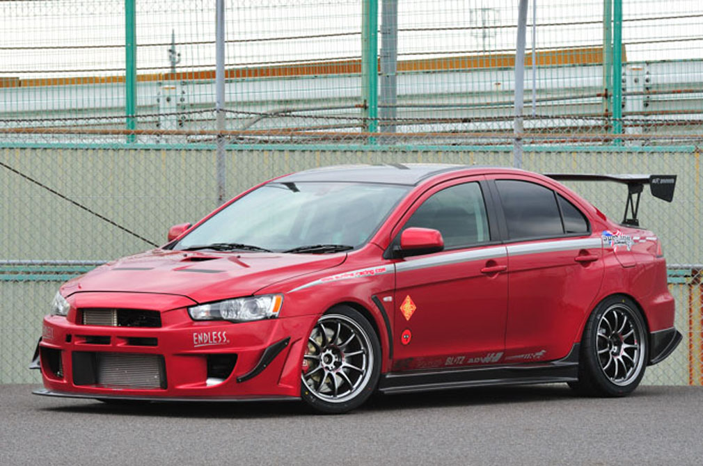 MITSUBISHI LANCER EVOLUTION X GSR [CZ4A] 2010y / SunLine Racing [SHOP DEMO-CAR]