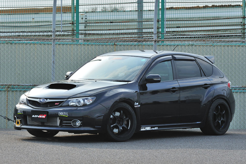 SUBARU IMPREZA WRX STI [GRB] 2008y [SHOP DEMO-CAR]