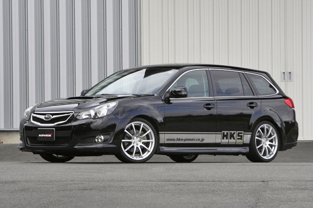 SUBARU LEGACY Touring Wagon [BR9] 2009y / HKS [DEMO-CAR]