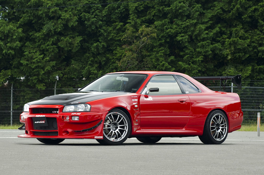 NISSAN GT-R [R34] 2001y / MCR [SHOP DEMO-CAR]