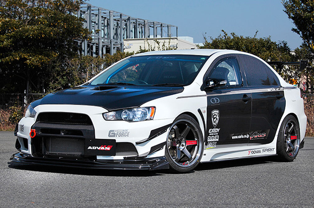 MITSUBISHI LANCER EVOLUTION X RS [CZ4A] 2008y / Garage G-FORCE [SHOP DEMO-CAR]