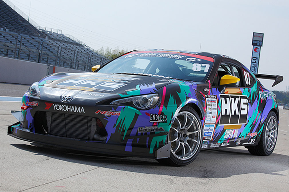 谷口 信輝  TOYOTA 86 [ZN6] 2012y  HKS RACING PERFORMER 86  [D1 GRAND PRIX MACHINE]