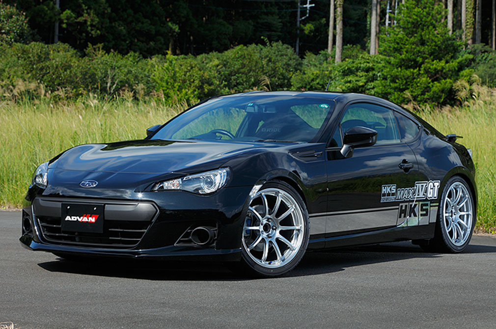 SUBARU BRZ [ZC6] 2012y / HKS [DEMO-CAR]