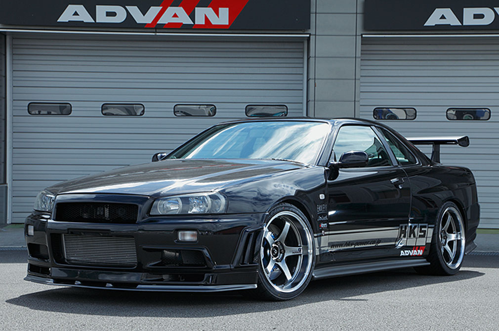 NISSAN SKYLINE GT-R [BNR34] 1999y / HKS [DEMO-CAR]