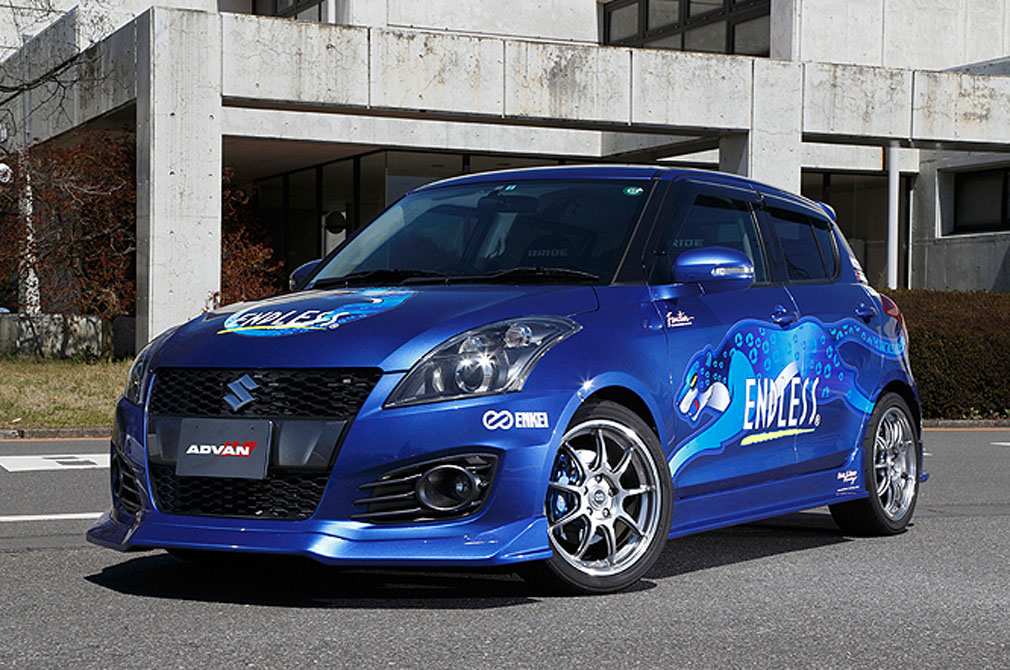 SUZUKI SWIFT Sports [ZC32S] 2012y / ENDLESS [DEMO-CAR]