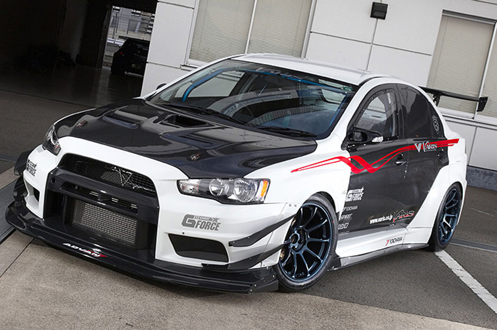 MITSUBISHI LANCER EVOLUTION X RS [CZ4A] 2007y / Garage G-FORCE