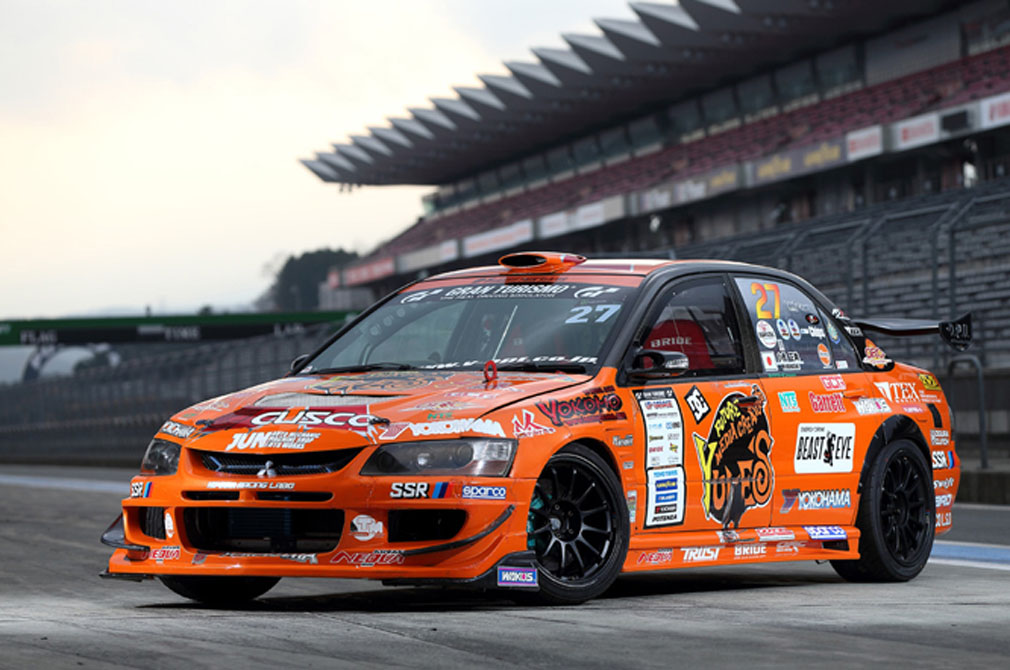 小橋 正典  MITSUBISHI LANCER EVOLUTION Ⅸ [CT9A]  YUKE'S チームオレンジ  [2014 D1 GRAND PRIX MACHINE]