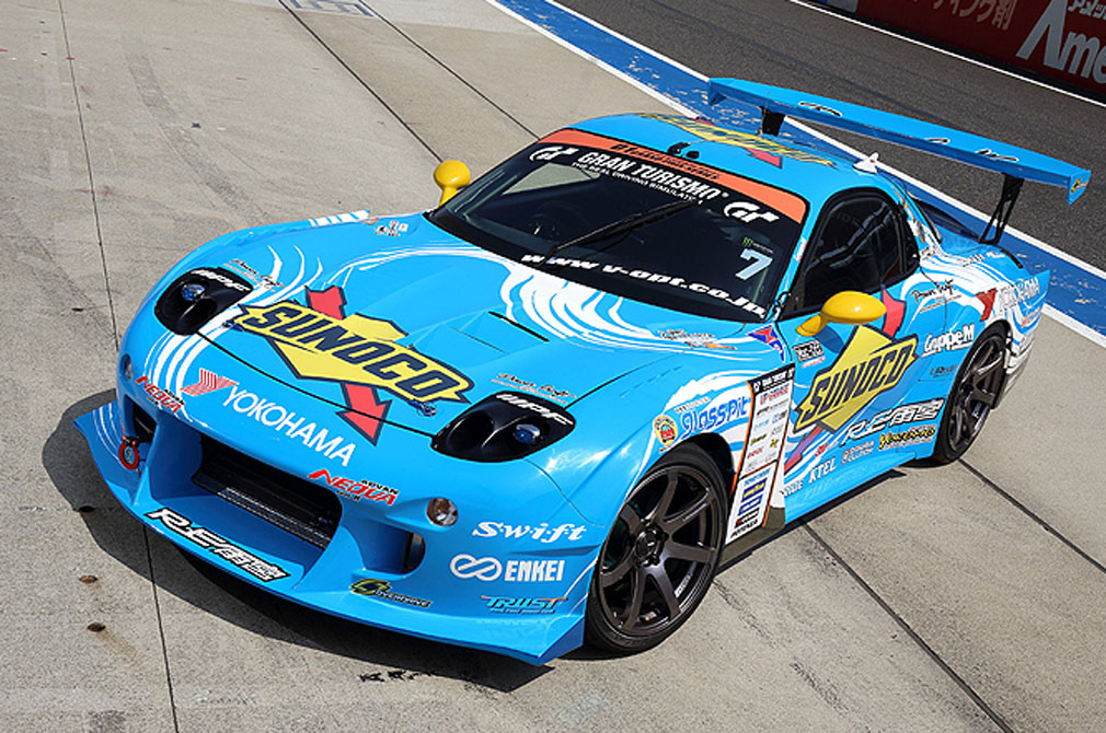末永 正雄  MAZDA RX-7 [FD3S] RE雨宮 SUNOCO RX-7 [2014 D1 GRAND PRIX MACHINE]