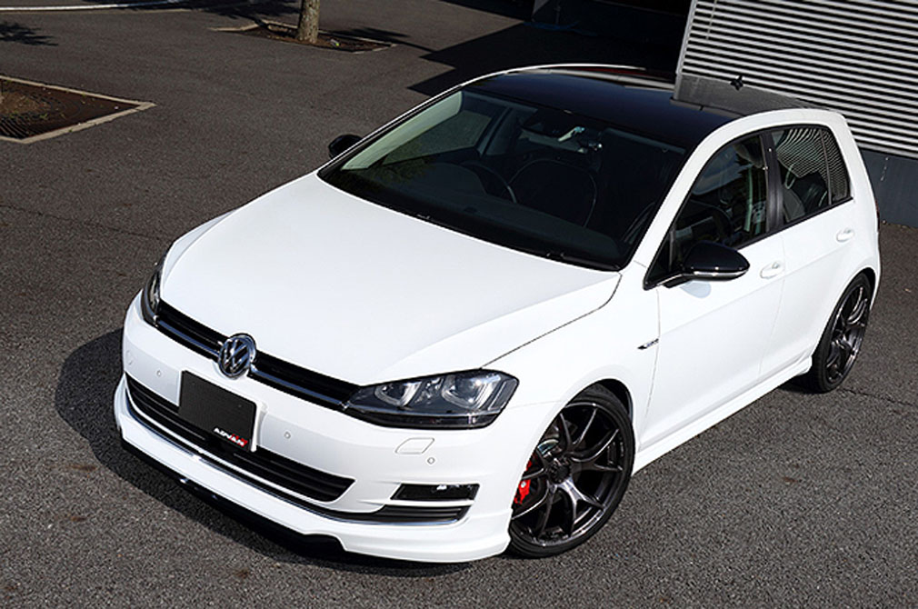 Volkswagen Golf7 [ACUPT] 2013y / RAYS [DEMO-CAR]