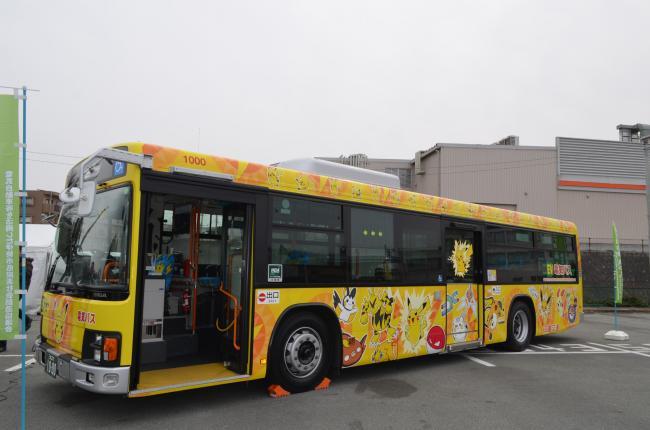 三重交通の大型電気バス