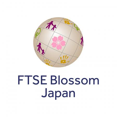 The logo mark of the FTSE Blossom Japan Index