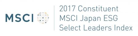 The logo mark of the MSCI Japan ESG Select Leaders Index