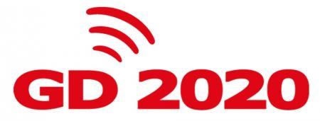 The logomark for Yokohama's new medium-term management plan, GD2020