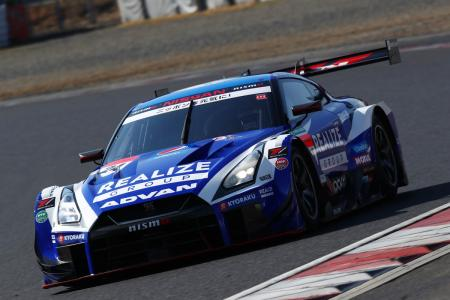 Vehicle competing in SUPER GT/GT500 2019 series : KONDO RACING's Realize Corporation ADVAN GT-R