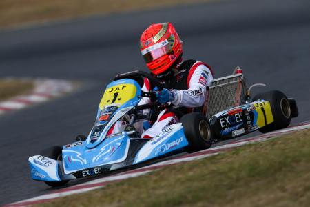 2018 All-Japan Karting Championship's OK class series champion