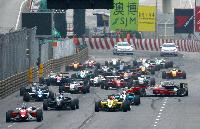 F3グランプリのスタートシーン(2011年)