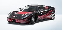EVコンセプトカー「AERO-Y」 。空気抵抗低減や軽量化素材がテーマのため、この開発コードネームが付けられた