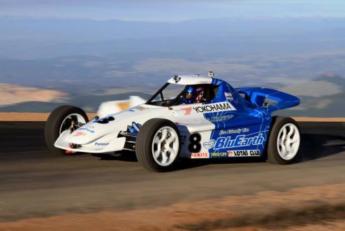Original EV racing car (in 2013)