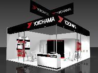 Conceptual drawing of Yokohama booth