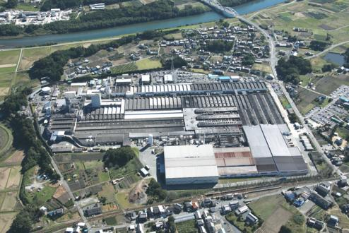 Shinshiro passenger-car tire plant
