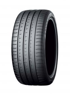 """""""ADVAN Sport V105"""" (Tire shown is a different size from tires used on new Porsche)"""