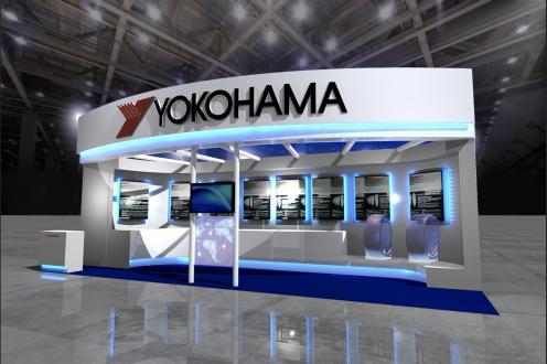 横浜ゴムブースのイメージ図