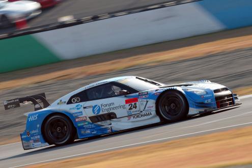 第3戦のGT500クラスで優勝した「フォーラムエンジニアリングADVAN GT-R」