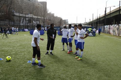 Training scene