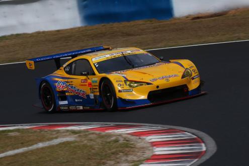 GT300クラスの開幕戦で優勝した「UPGARAGE 86 MC」