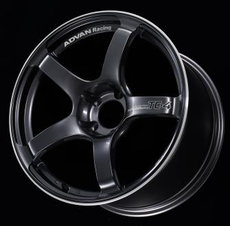 「ADVAN Racing TC-4」カラー:レーシングガンメタリック&リング