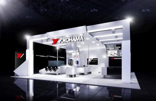 Image of the YOKOHAMA booth