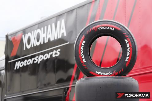 ADVAN racing tires supplied for the Japanese SUPER FORMULA Championship